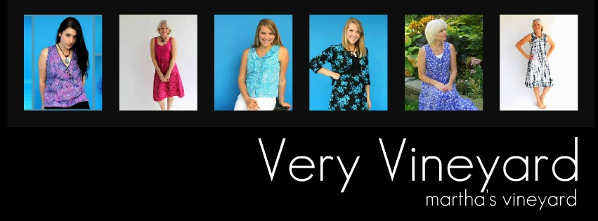 Very Vineyard clothing comes in so many great styles - don't forget to check out our website at www.veryvineyard.com