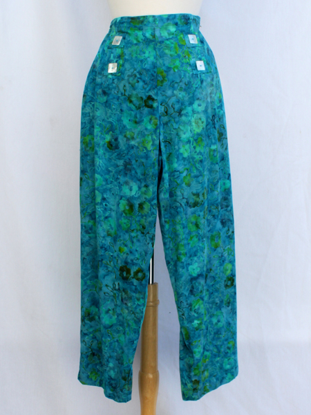 Sailor Pant in Summer Ivy