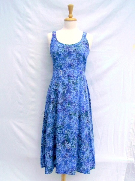 June Dress in Mystic