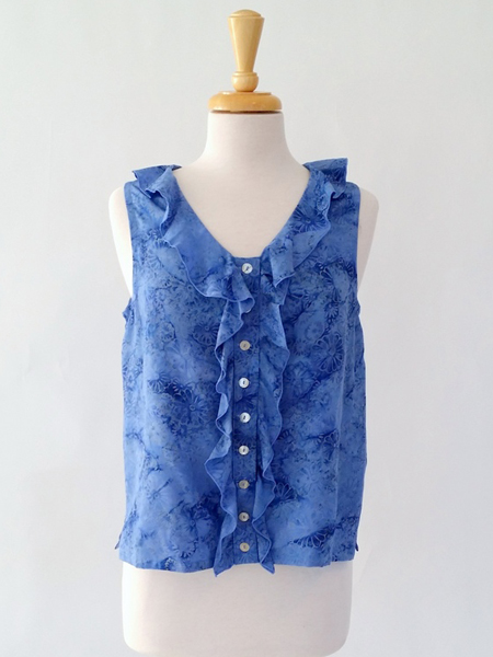 Ruffle Top in Smitten