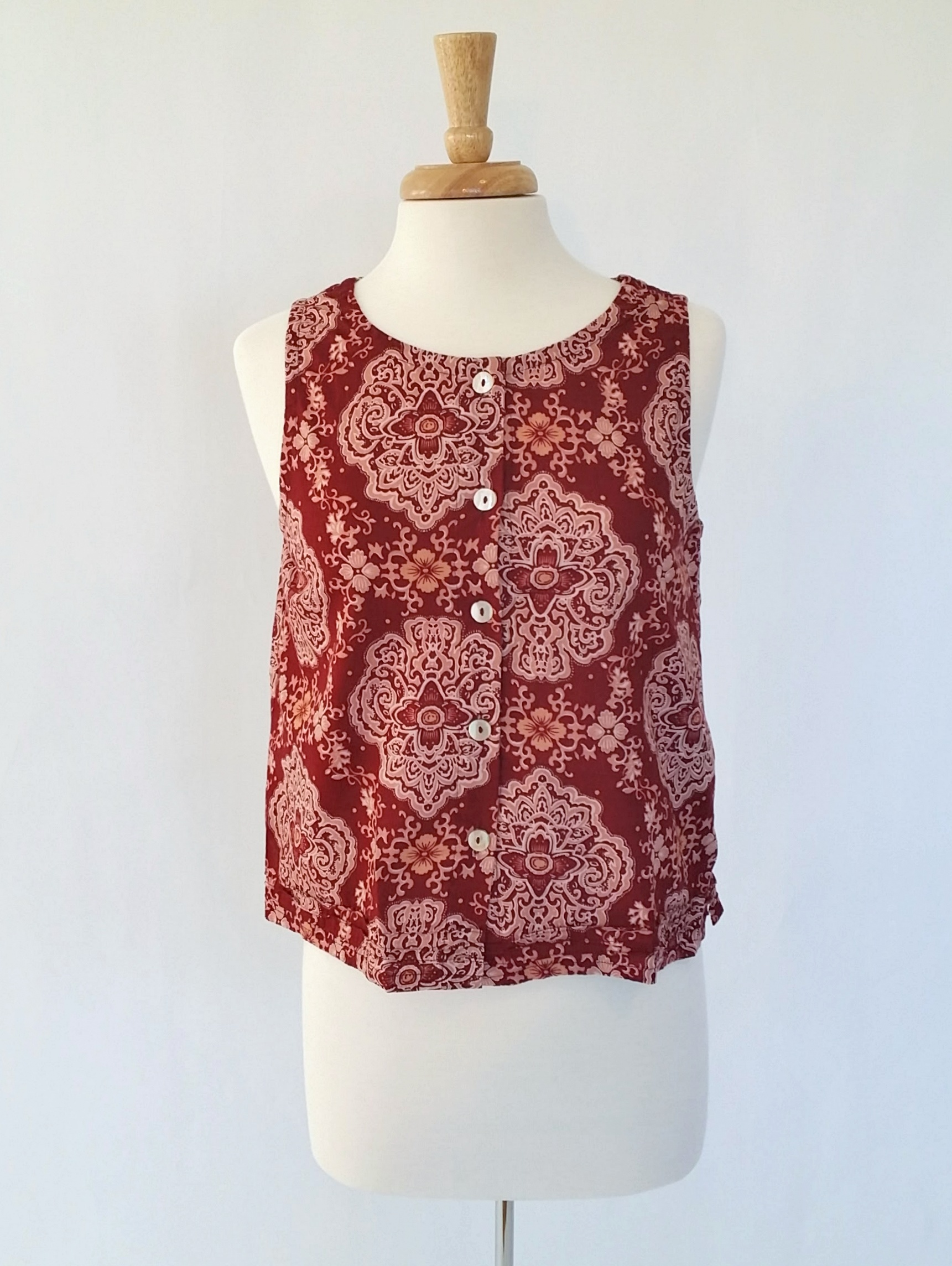 Aurelia Top in Henna