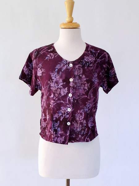 Victoria Blouse in Majestic Glee