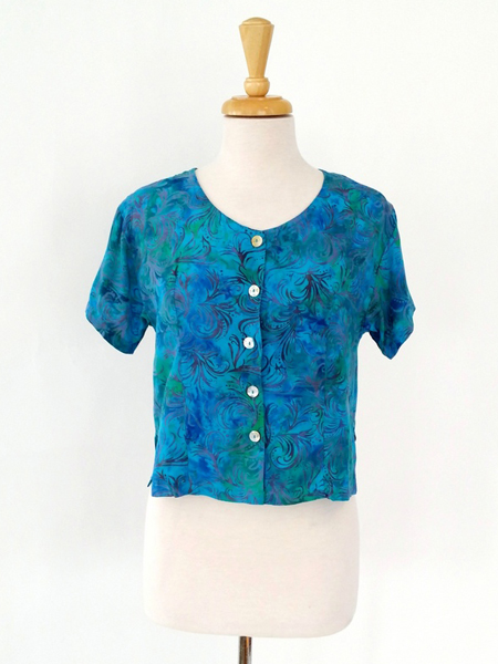Victoria Blouse in Whirlwind