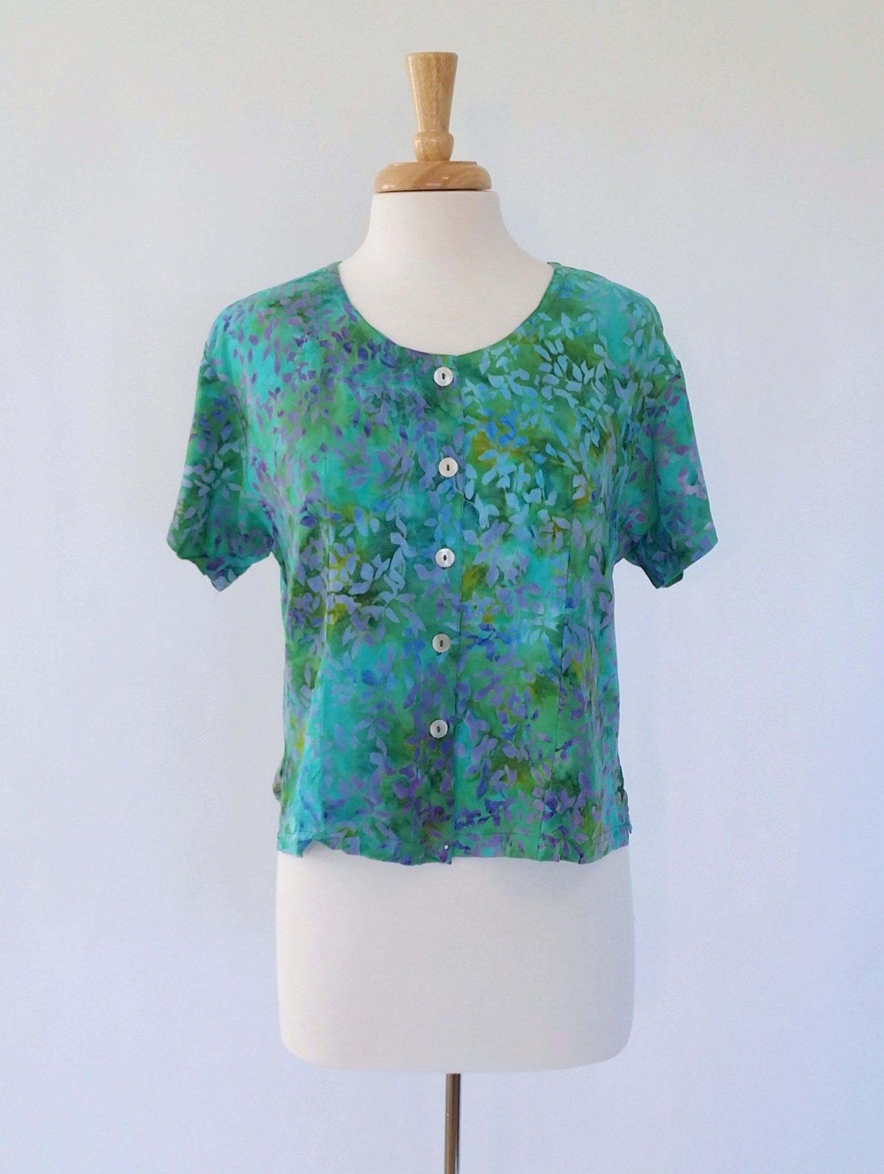 Victoria Blouse In Serenity