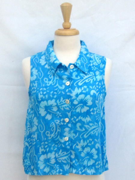 Apple Blouse in True Blue