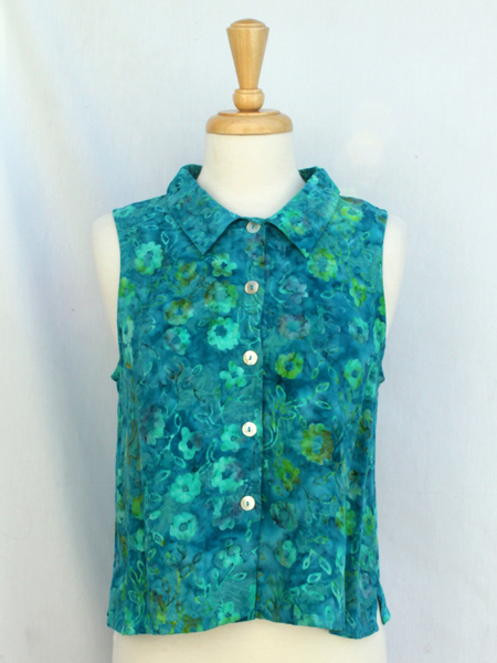 Apple Blouse in Summer Ivy