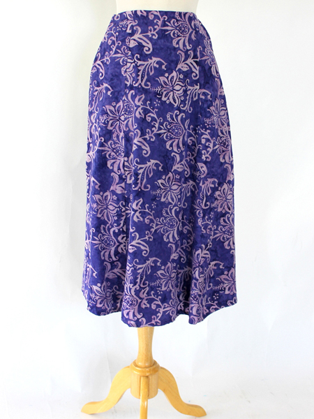 Long Flair Skirt in Magic Inspiration