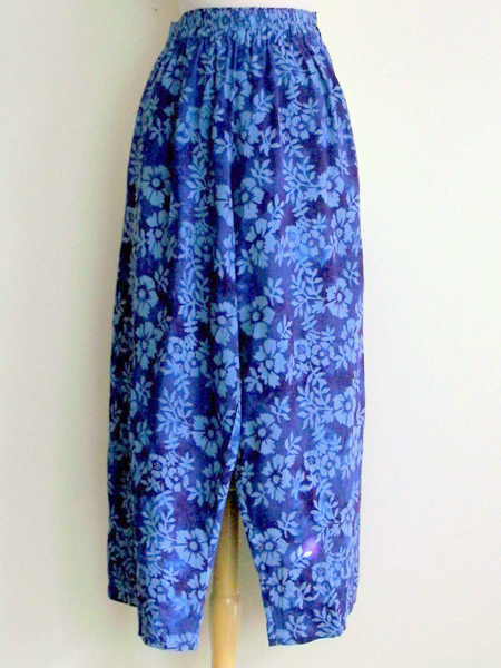 Split Skirt in Purple Astor