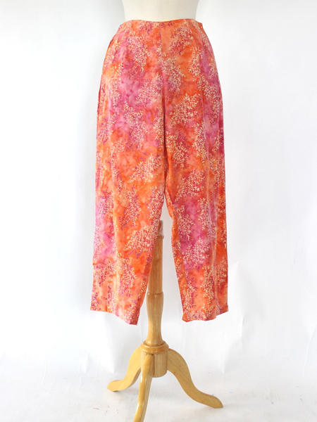 Beach Pant in Coral Spray