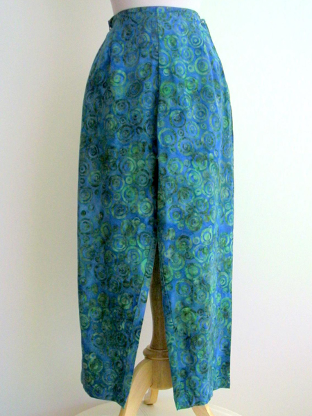 Beach Pant in Blue Infinity