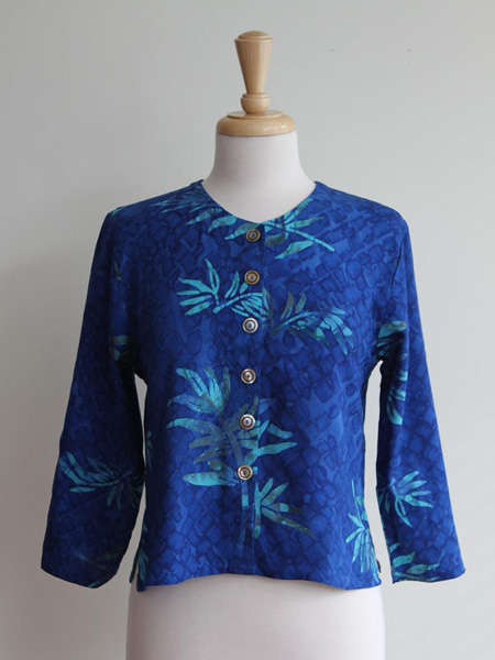 Simple Jacket in Tropical night