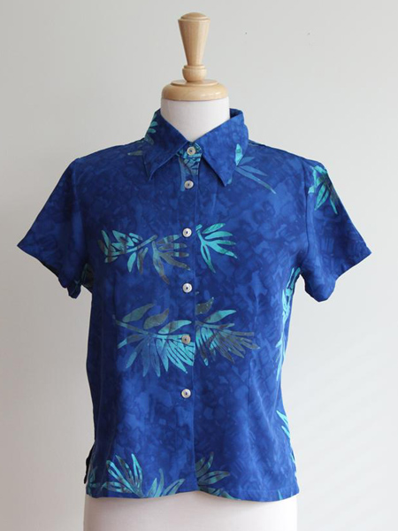 Lily Top in Tropical Night