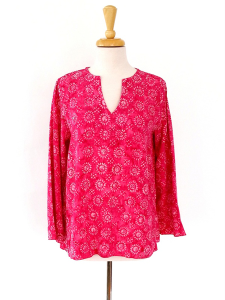 Kaftan in Pink Sunkissed