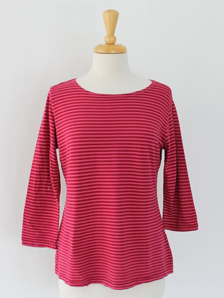 Cut Loose T in Hot Pink