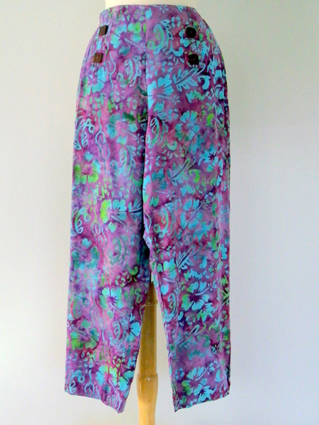 Sailor Pant in Tropical Flower