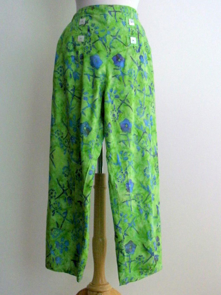 Sailor Pant in Lime Jitter