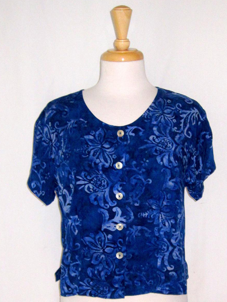 Victoria Blouse in Turkish Immersion