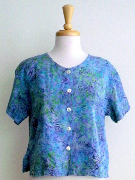 Victoria Blouse in Morning Peony