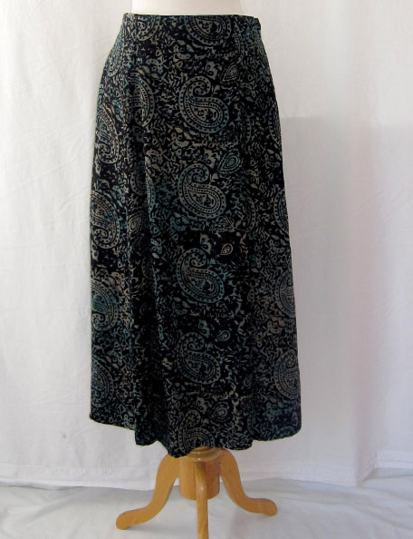 Long Flair Skirt in Tempo