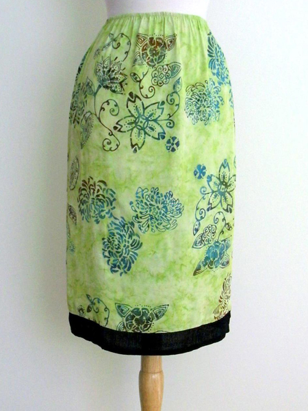 Sharon Skirt in Key Lime