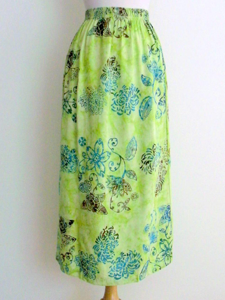 Emma Skirt in Key Lime