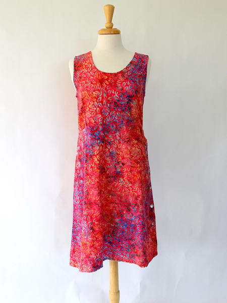 Short Sammi Dress in Ebb and Tide