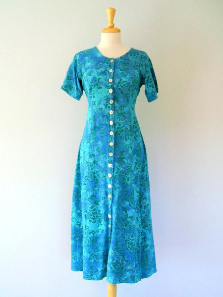 Jean Dress in Aquarius