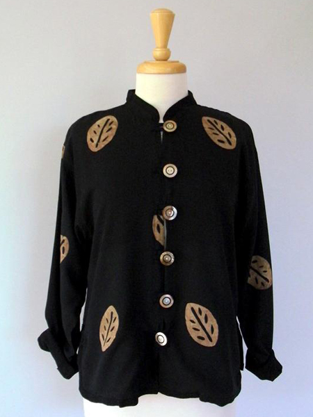 China Double Jacket in Leaf