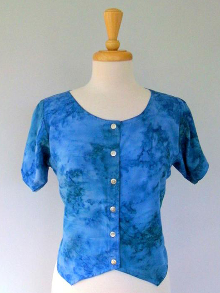 Diana Blouse in Watercolor