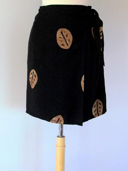 Jane Skirt in Brown Leaf