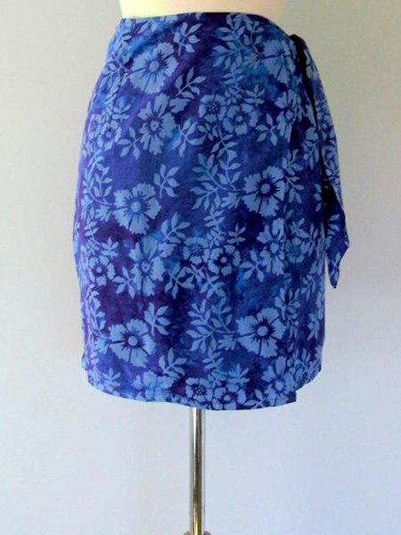 Jane Skirt in Purple Astor